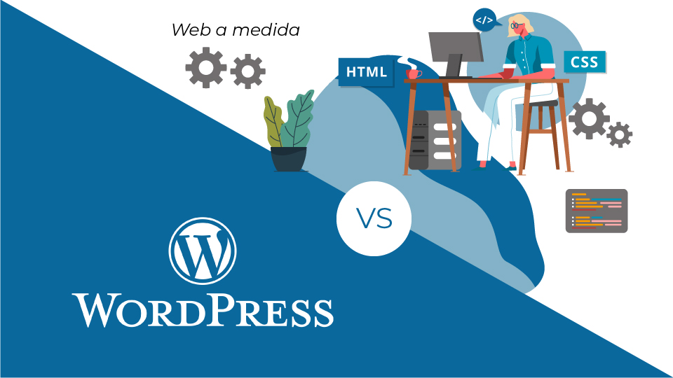 Wordpress vs webs a medida